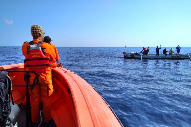 Tim SAR belum temukan nelayan hilang di Selat Lombok