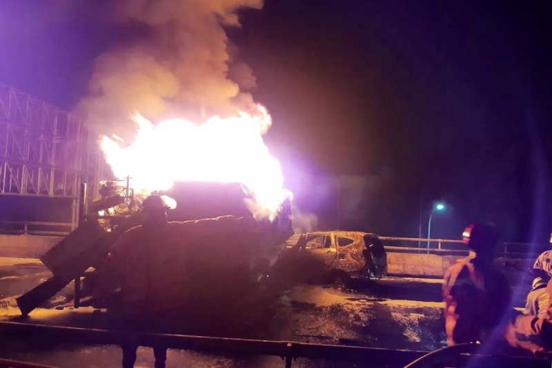 Satu korban tewas kebakaran truk Pertamina berhasil teridentifikasi
