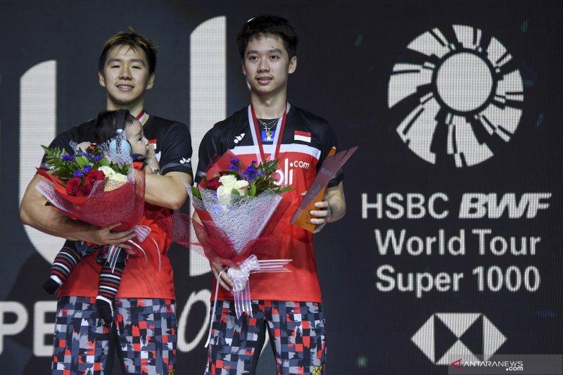 Minions juara Indonesia Open usai kalahkan Ahsan/Hendra