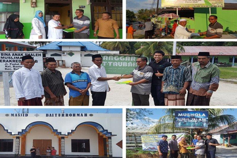 BPJS Ketenagakerjaan bantu lima rumah ibadah melalui TJSL