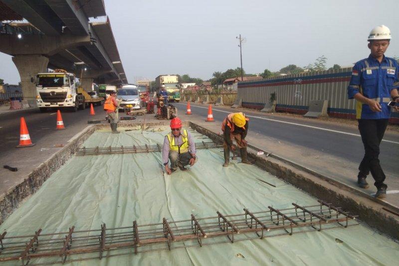 Jasa Marga: Pemeliharaan konstruksi tol Jakarta-Cikampek hingga Jumat