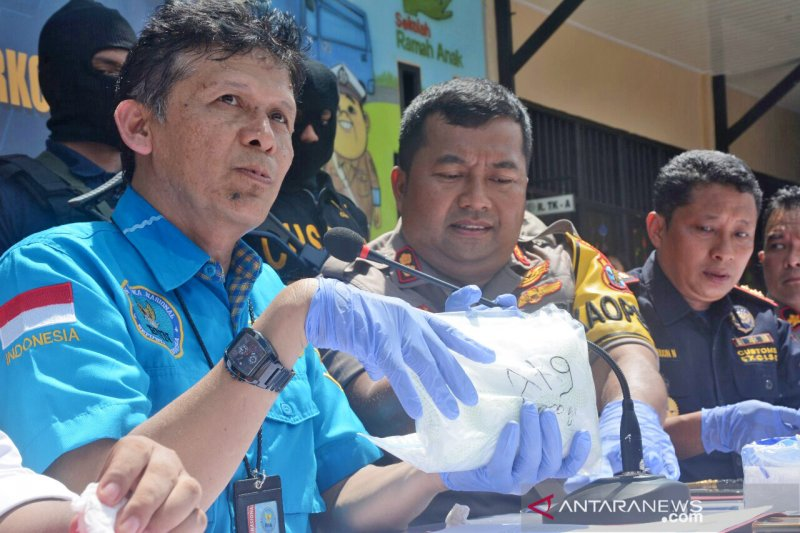 Sabu seberat 38 kg di Kalimantan Utara diduga libatkan sindikat internasional