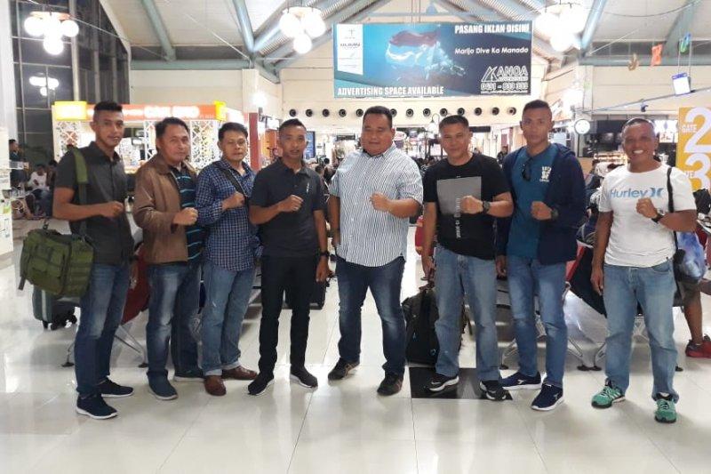Lantamal VIII memberangkatkan tim lomba perairan Kasal Cup