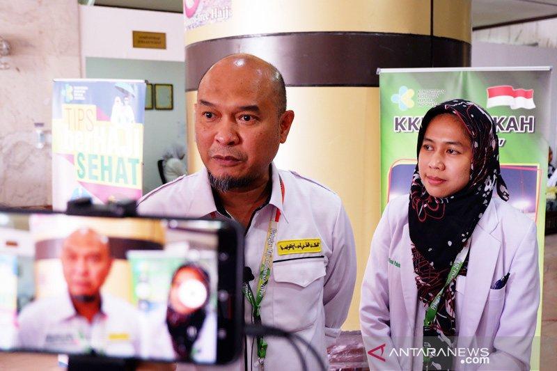 Tim medis Indonesia-Arab lakukan edukasi kesehatan preventif di bandara