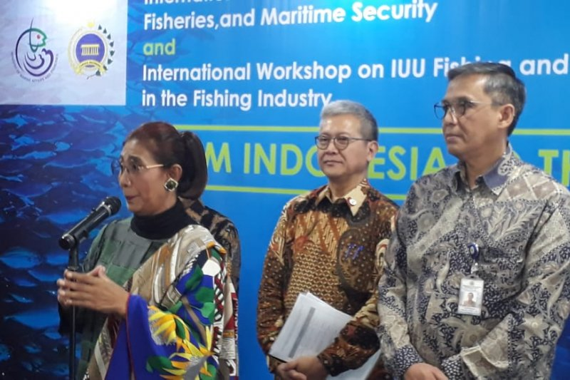 Indonesia makes great efforts to eradicate illegal fishing: Susi