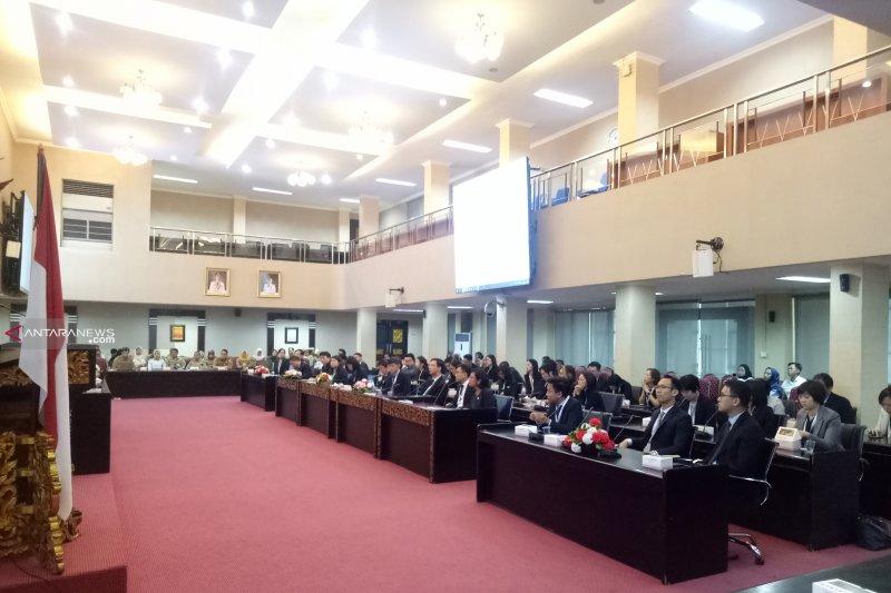 45 delegasi Kementerian Singapura pelajari perkembangan Palembang