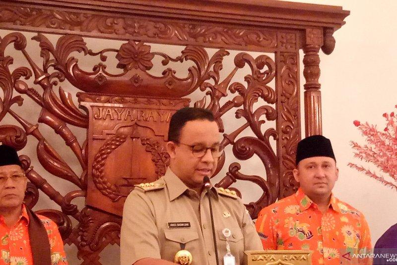 Pemprov DKI Jakarta serahkan tali kasih pada kafilah Jakarta