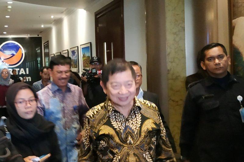 Suharso bertemu Surya Paloh bicarakan calon ketua MPR