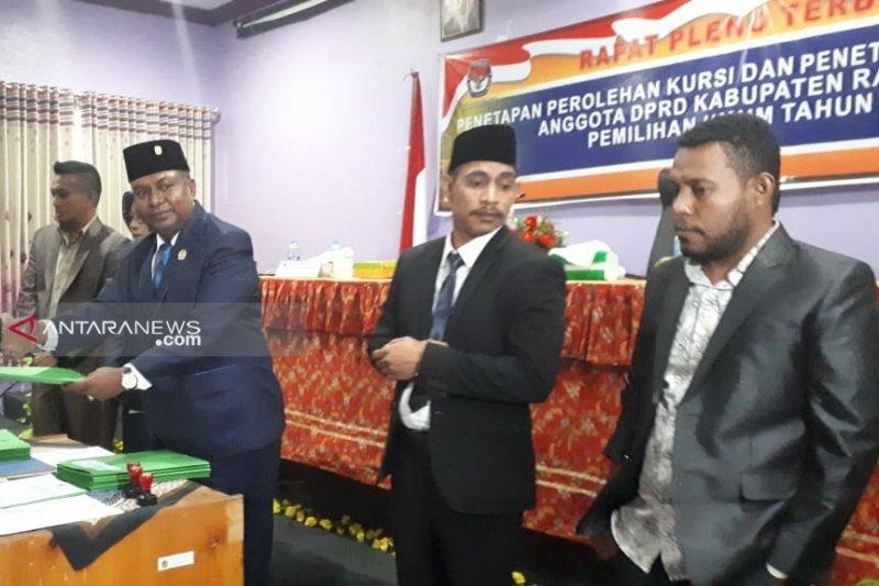 KPU Raja Ampat tetapkan 20 anggota legislatif
