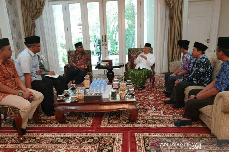 Ma'ruf Amin: Pemuda harus dibentengi ideologi Pancasila yang kokoh