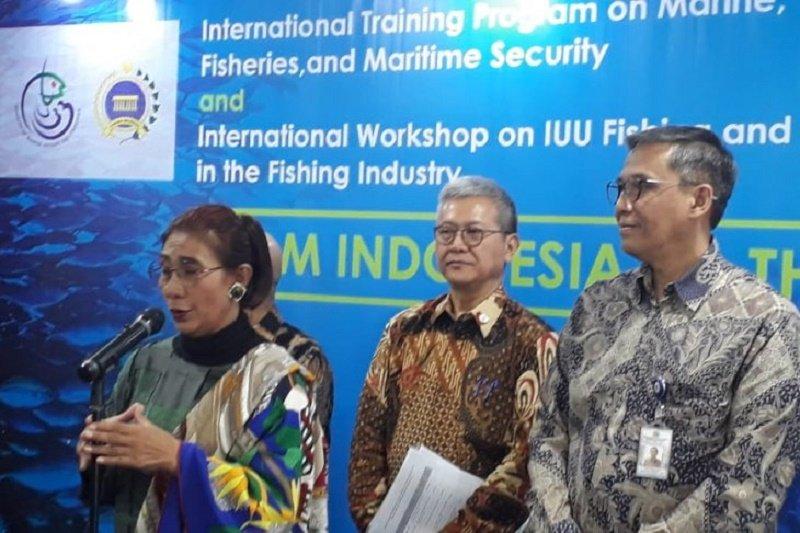 Indonesia dinilai sudah maju dalam memberantas penangkapan ikan ilegal