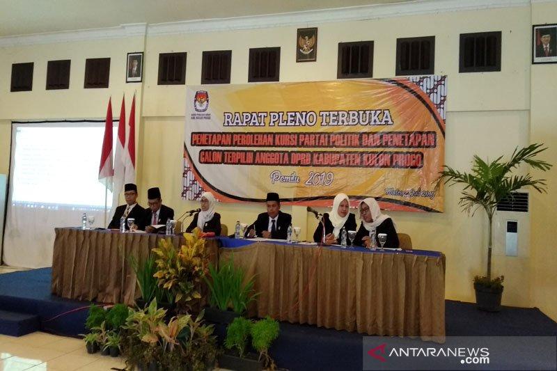 KPU Kulon Progo menetapkan 40 caleg terpilih Pemilu 2019