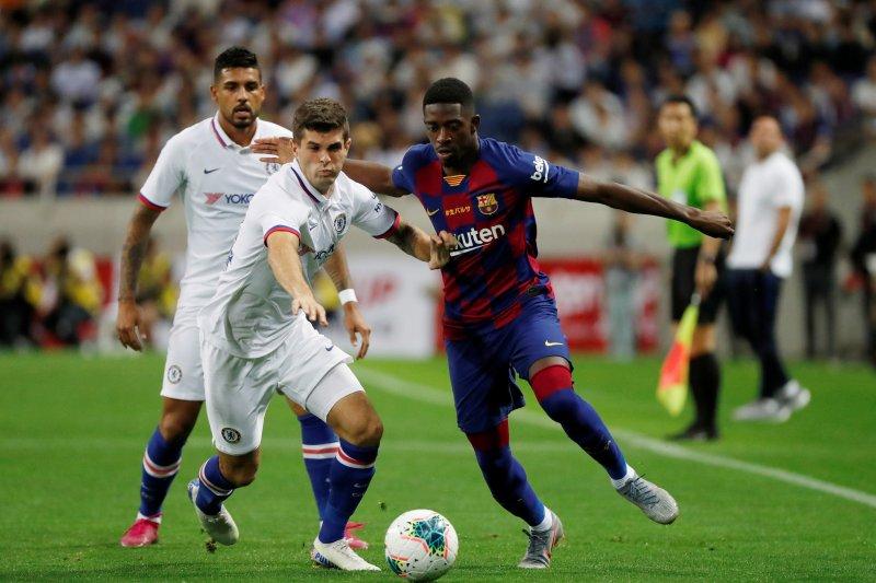 Chelsea kalahkan Barcelona 2-1 pada laga pramusim Rakuten Cup,