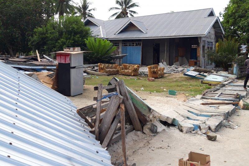 Pemprov data sekolah rusak akibat gempa