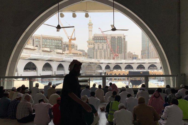 Beribadah di pondokan di Mekkah sama utamanya dengan beribadah di Masjidil Haram