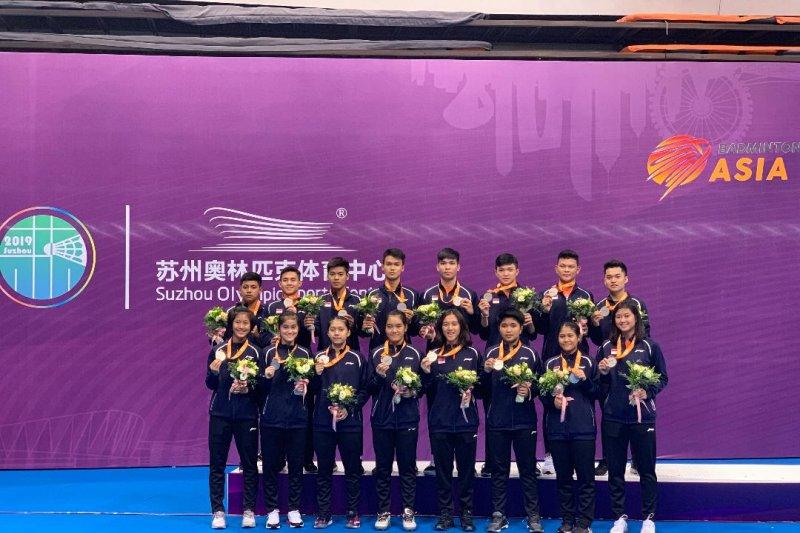 Indonesia raih perak di kejuaraan bulu tangkis junior Asia di China