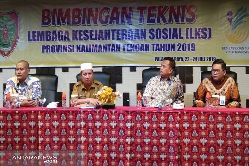 Wujudkan kesejahteraan sosial, Dinsos Kalteng gelar Bimtek LKS