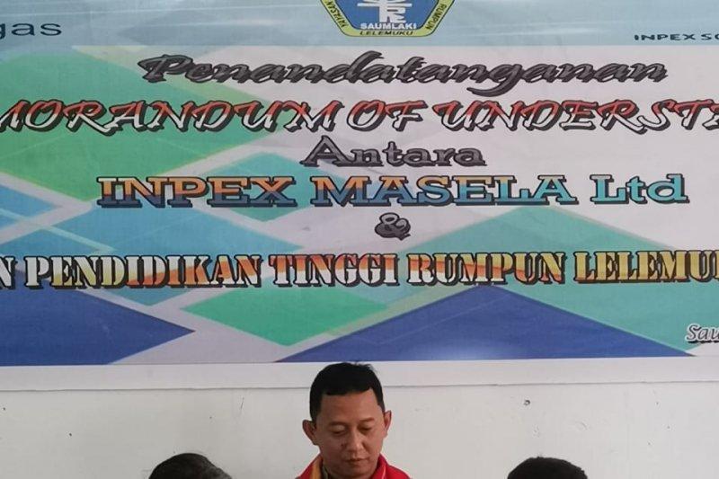 INPEX kembali berikan beasiswa untuk puluhan mahasiswa YPT-RLS