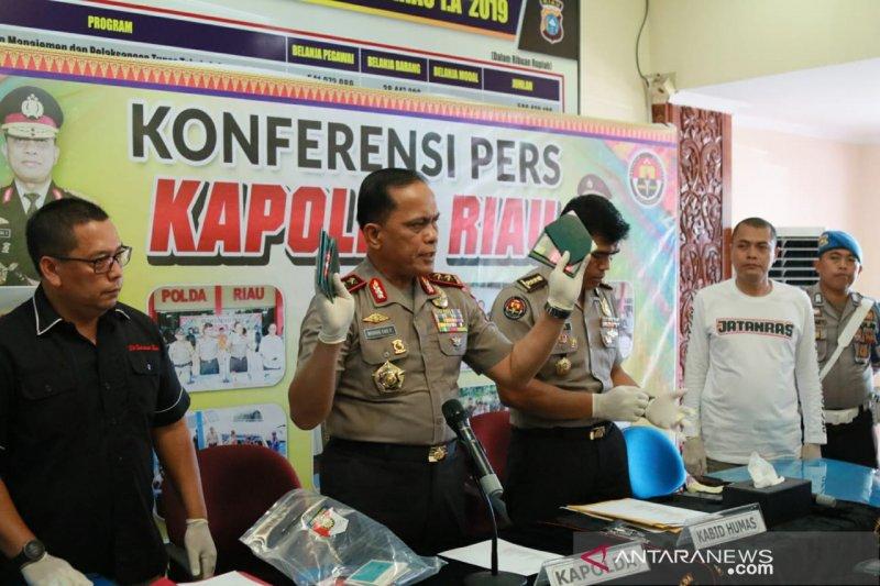 Polda Riau tembak mati dua gembong Narkoba
