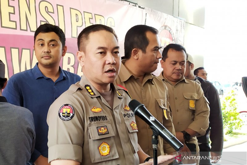 Polda Jabar ungkap penyelundupan 38Kg ganja di Cicalengka Bandung