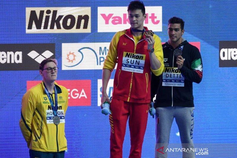 Sidang doping perenang andalan China, Sun Yang ditunda Oktober