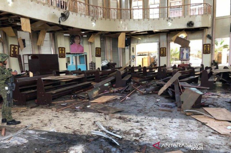 Dua bom meledak, UU Darurat Militer Filipina mungkin kembali berlaku