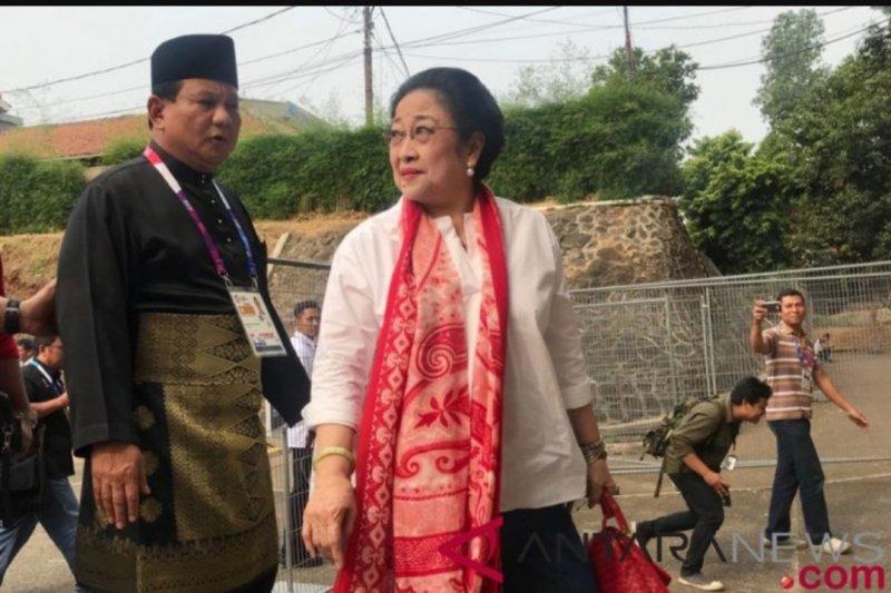Pertemuan Prabowo,  Jokowi dan Megawati di Jakarta dijadwalkan Rabu