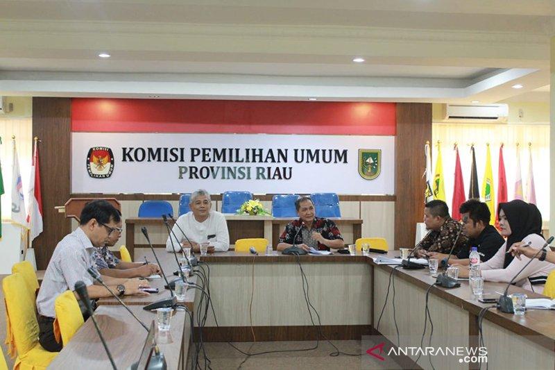 KPU di Riau samakan persepsi menjelang sidang perselisihan hasil Pemilu di MK