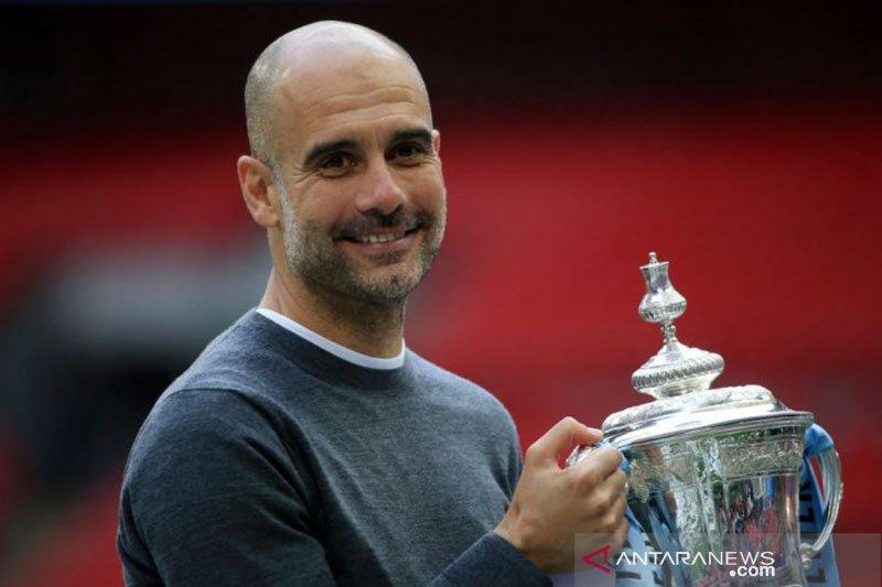 Pep Guardiola delapan kali persembahkan juara liga