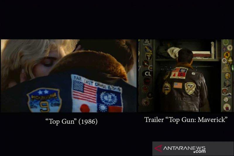 """Tidak ada bendera Jepang Taiwan di jaket """"Top Gun: Maverick"""""""