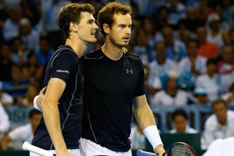Andy Murray gandeng adiknya untuk berduet ganda putra di Washington Open