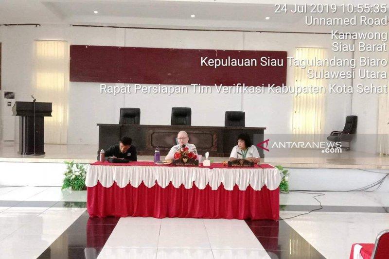 Palandung Pimpin Rakor Verifikasi Kabupaten/Kota Sehat