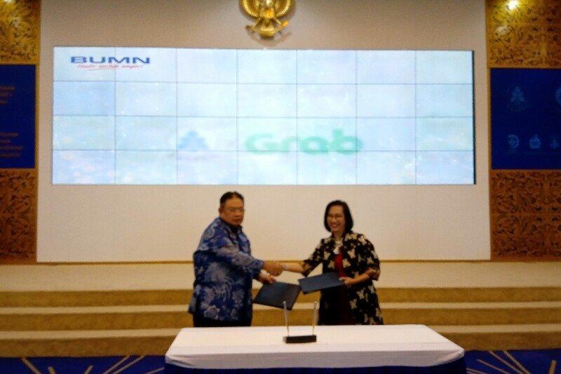 Taspen Gandeng Grab Indonesia Lewat Grab To Work Taspen 2019