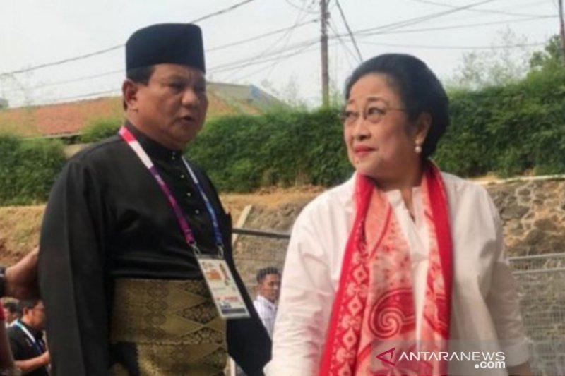 Prabowo-Megawati bertemu empat mata