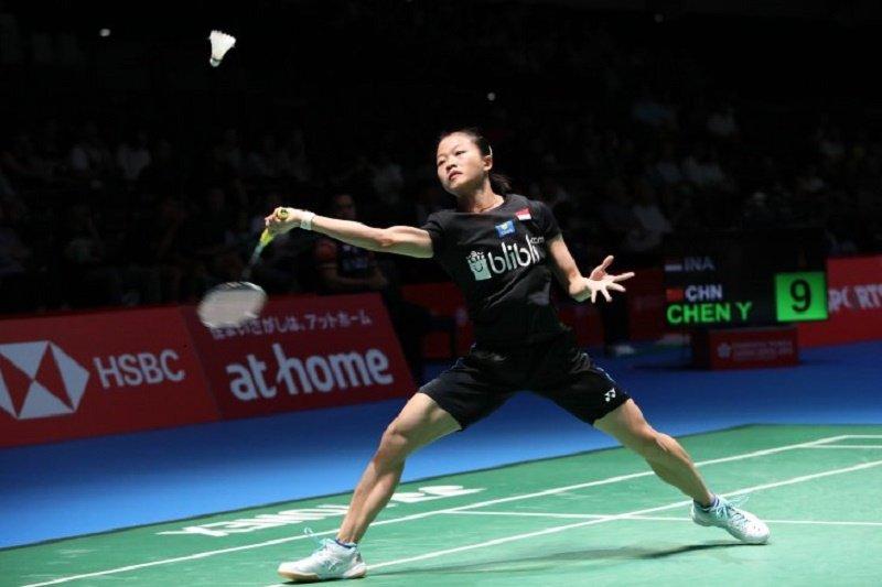 Wakil tunggal putri Indonesia Fitriani kandas di babak pertama Denmark Open