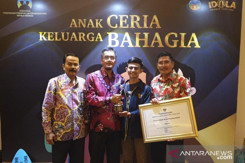 Naik peringkat, Payakumbuh raih penghargaan KLA tingkat madya