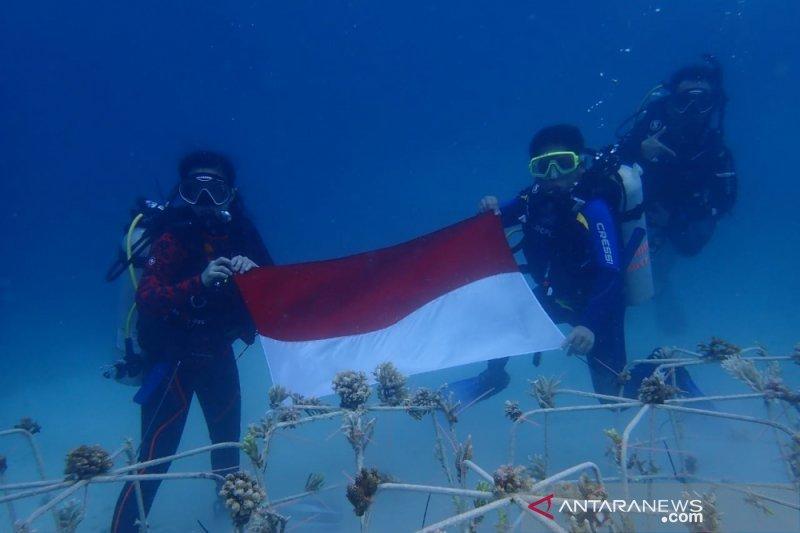 Taman Nasional Kepulauan Togean transplantasi ribuan karang