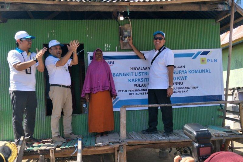 PLN puji Pelni bantu penyambungan listrik gratis di Seraya Manu