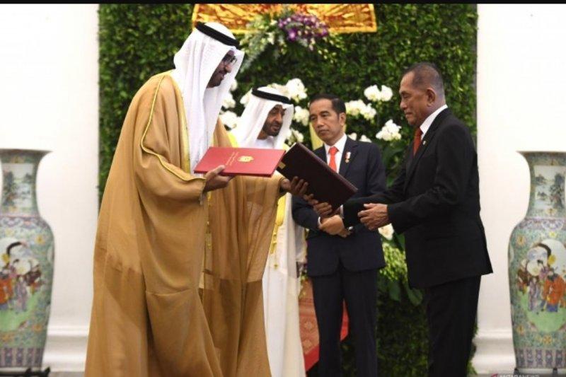 RI dan Uni Emirat Arab memperkuat kerja sama sektor industri