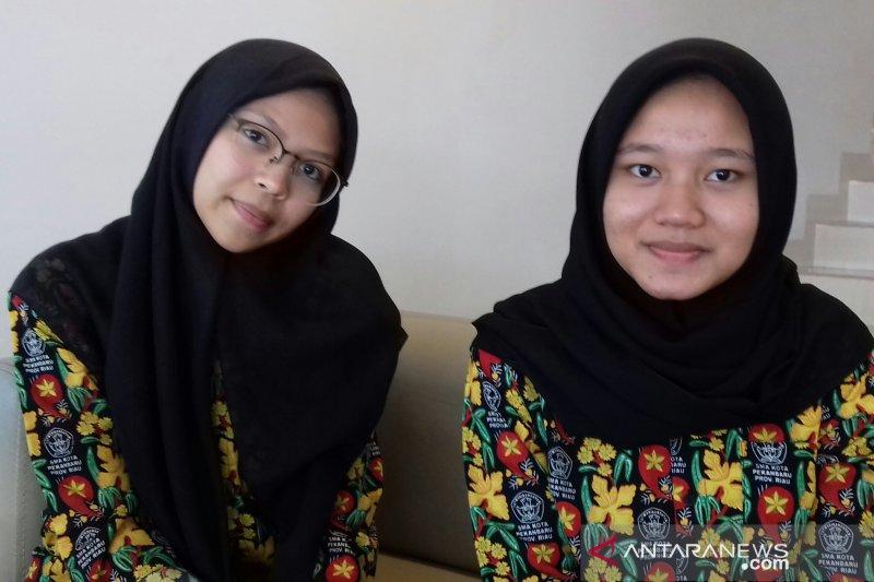Peserta seleksi SMN Riau ini optimistis lolos