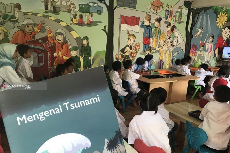 Bahan ajar kesiapsiagaan bencana tsunami diuji coba di PAUD