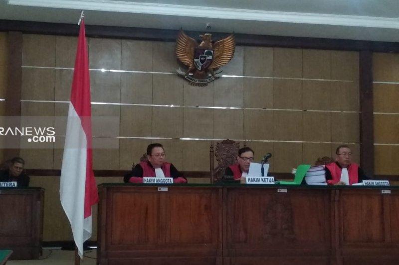 Pengadilan Tinggi perkuat vonis para komisioner KPU Palembang