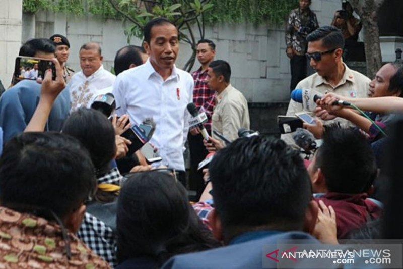 Jokowi: Pertemuan Megawati dengan Prabowo sebagai sahabat