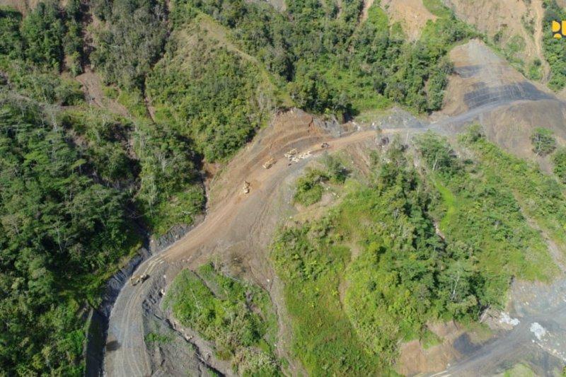 Lanjut, pembangunan jalan perbatasan Indonesia - Papua Nugini di Papua