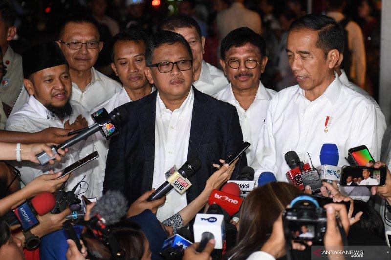 TKN Joko Widodo - KH Ma'ruf Amin resmi dibubarkan