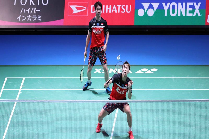 Minions kembali kalahkan The Daddies di putaran final Japan Open
