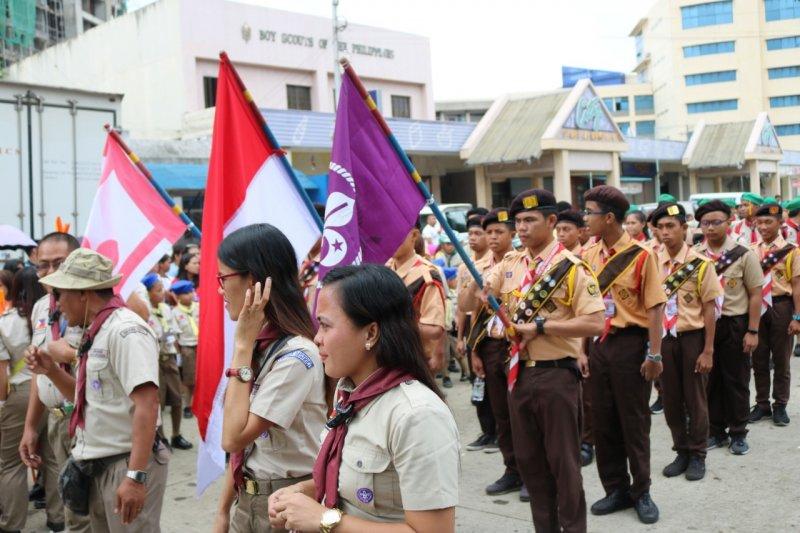 Gerakan Pramuka Indonesia dapat penghargaan dari Filipina