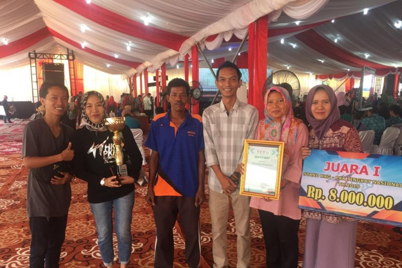 Sumatera Selatan raih juara satu pameran Kesatuan Gerak PKK