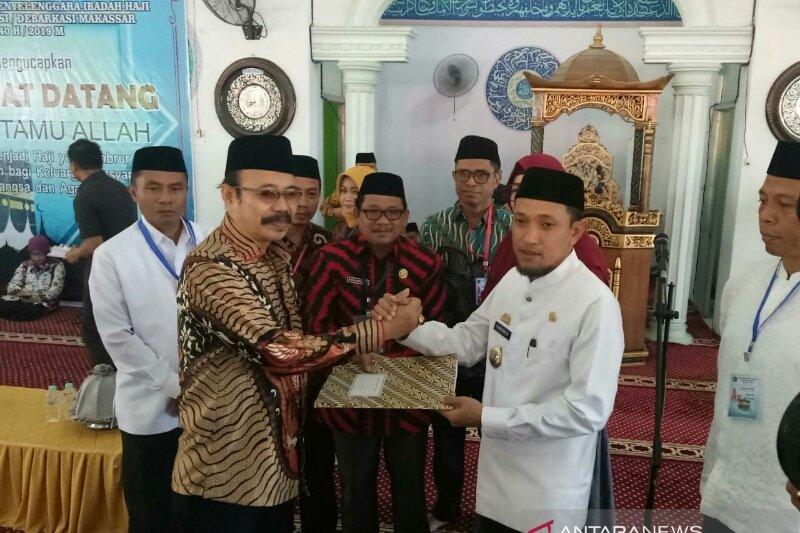 JCH Makassar dan Jeneponto masuk pemondokan asrama haji