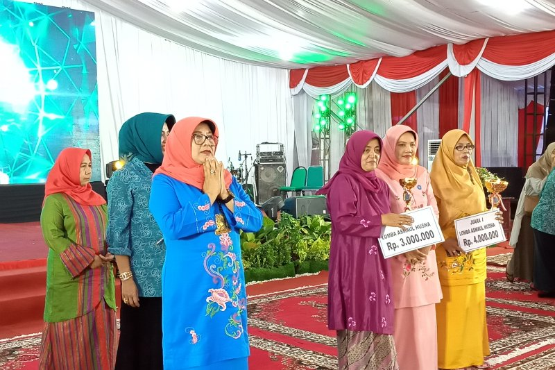 Kota Pariaman menangkan lomba membaca Asmaul Husna pada HKG-PKK di Padang